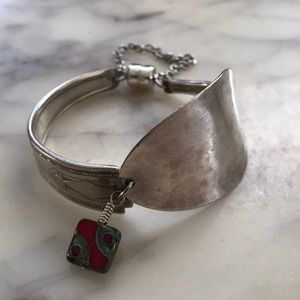 Jewelry - Spoon bracelet with magnetic clasp